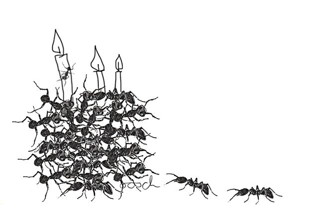 Ameisenkuchen